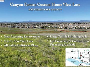 227 Canyon Estates Cir Lot12, American Canyon, CA